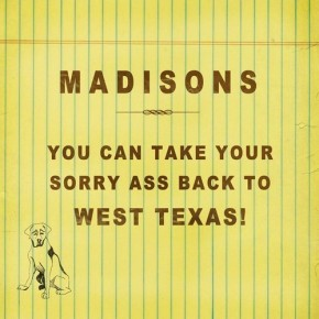 8 Questions: Madisons